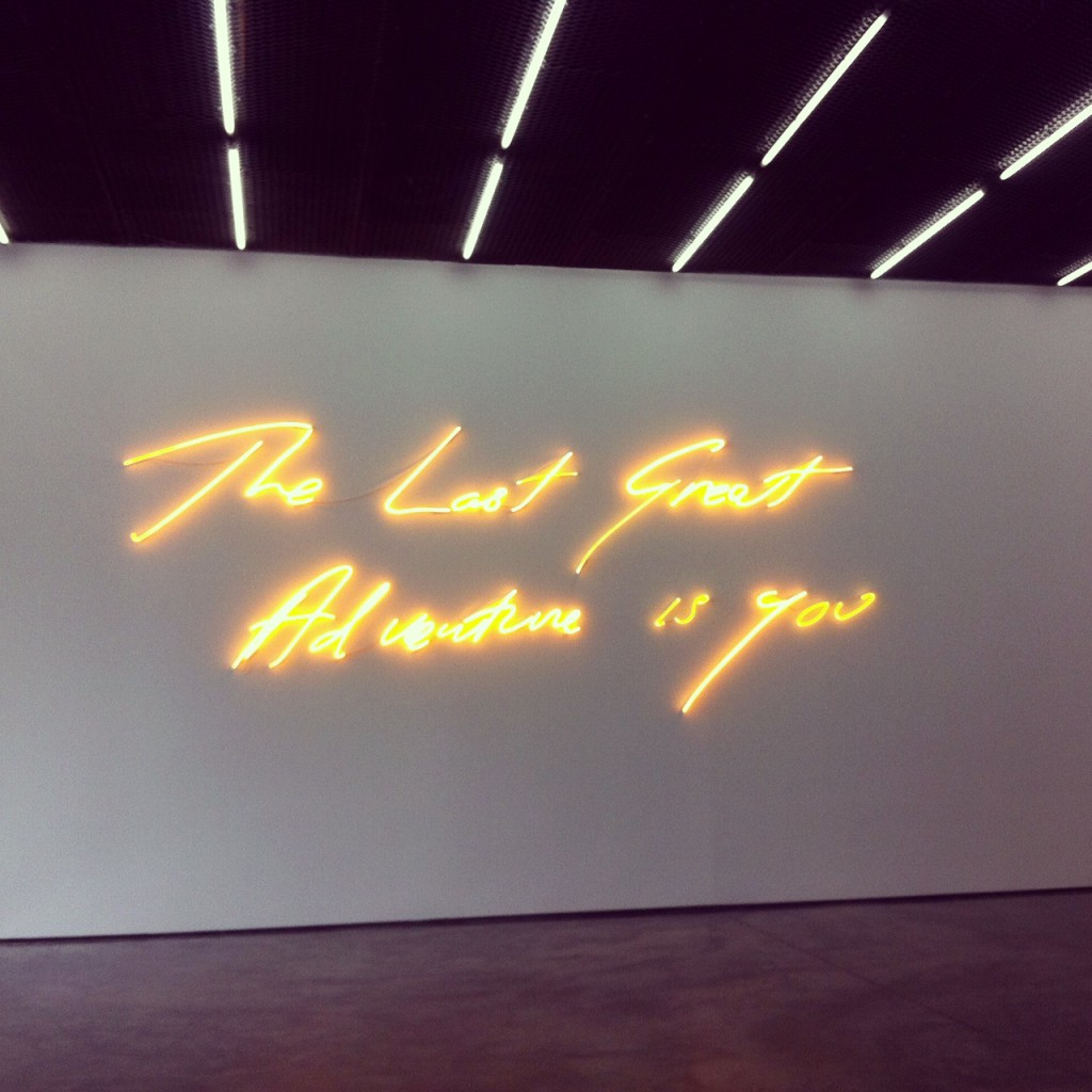 Tracey Emin at White Cube gallery
