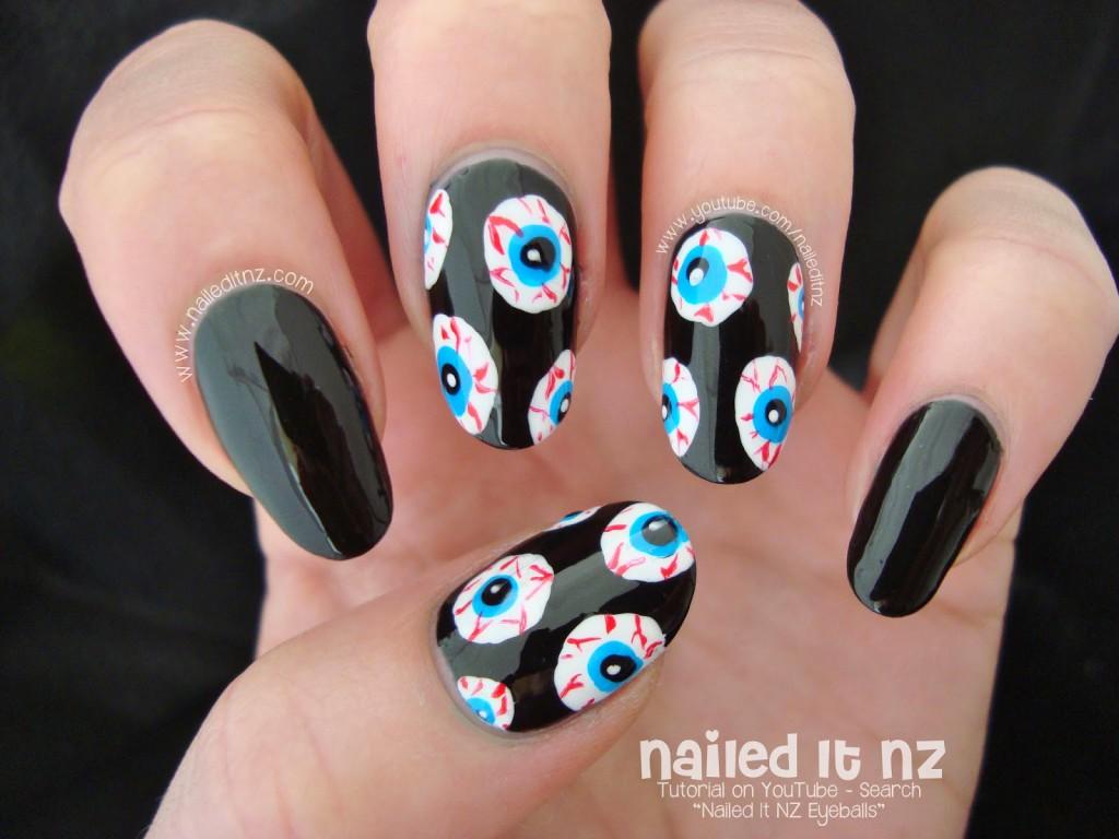 5 non naff halloween nail art ideas ladylandladyland. Black Bedroom Furniture Sets. Home Design Ideas