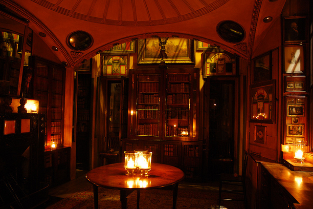 Sir John Soane's Museum by candlelight