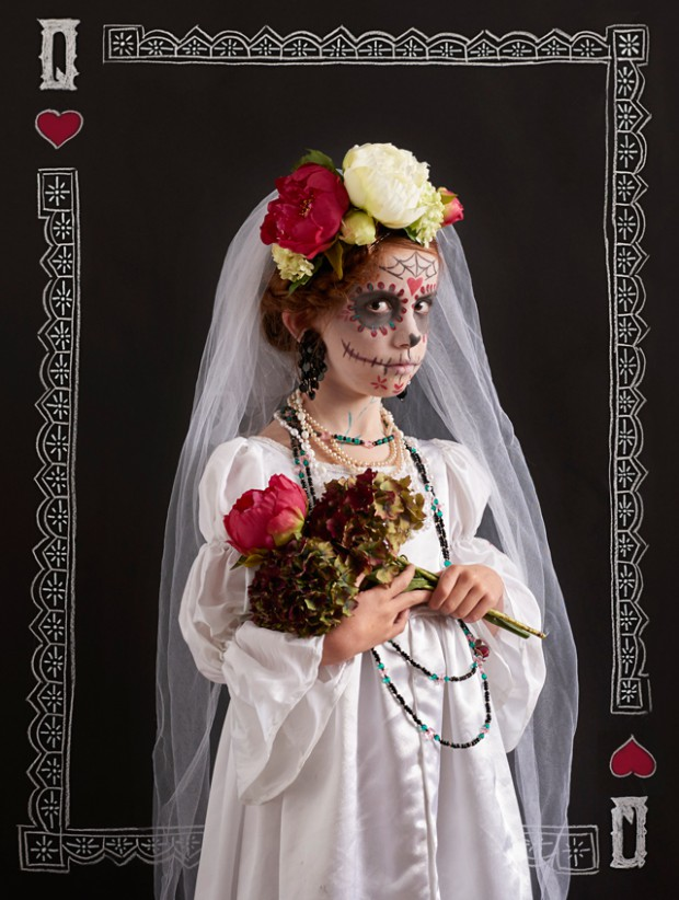 DAY OF THE DEAD HALLOWEEN COSTUME DIY - LADYLANDLADYLAND