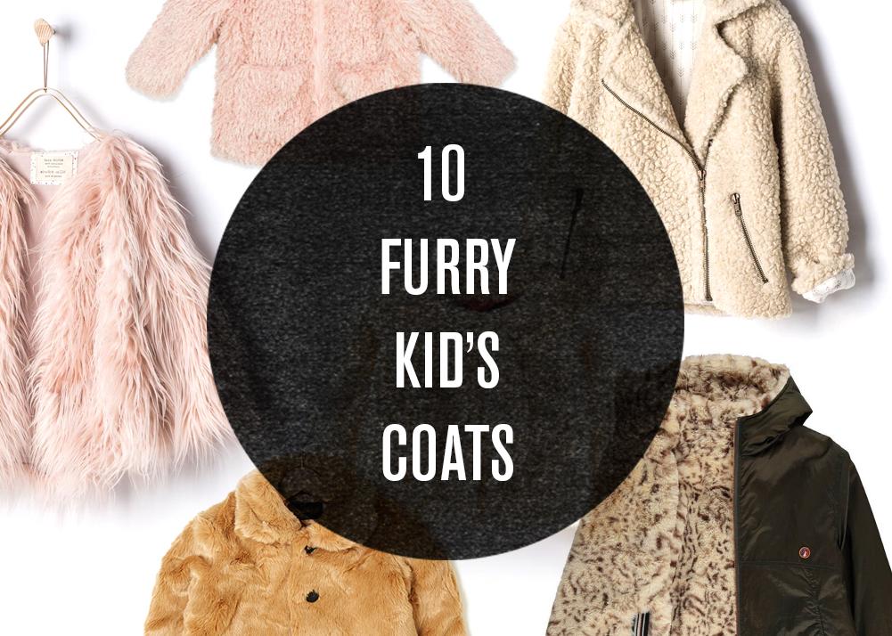 10 FAUX FUR COATS FOR KIDS