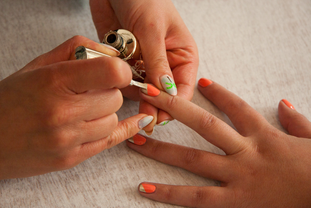 Fancy Nail Art That S Actually Dead Easy Ladylandladyland
