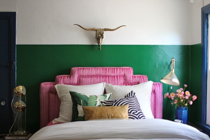 green-stripe-wall1