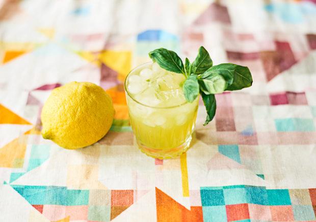 Happy Hour – The Basil Smash