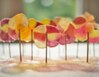 DIY lollypops forest