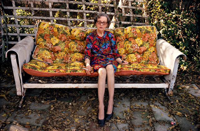 William Eggleston Portraits - National Portrait Gallery exhibition 2016