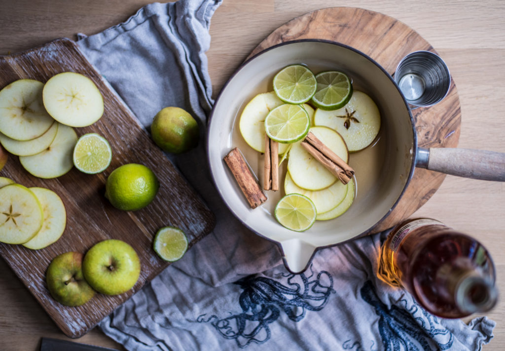 HAPPY HOUR - LIME & APPLE RUM HOT TODDY - LADYLANDLADYLAND