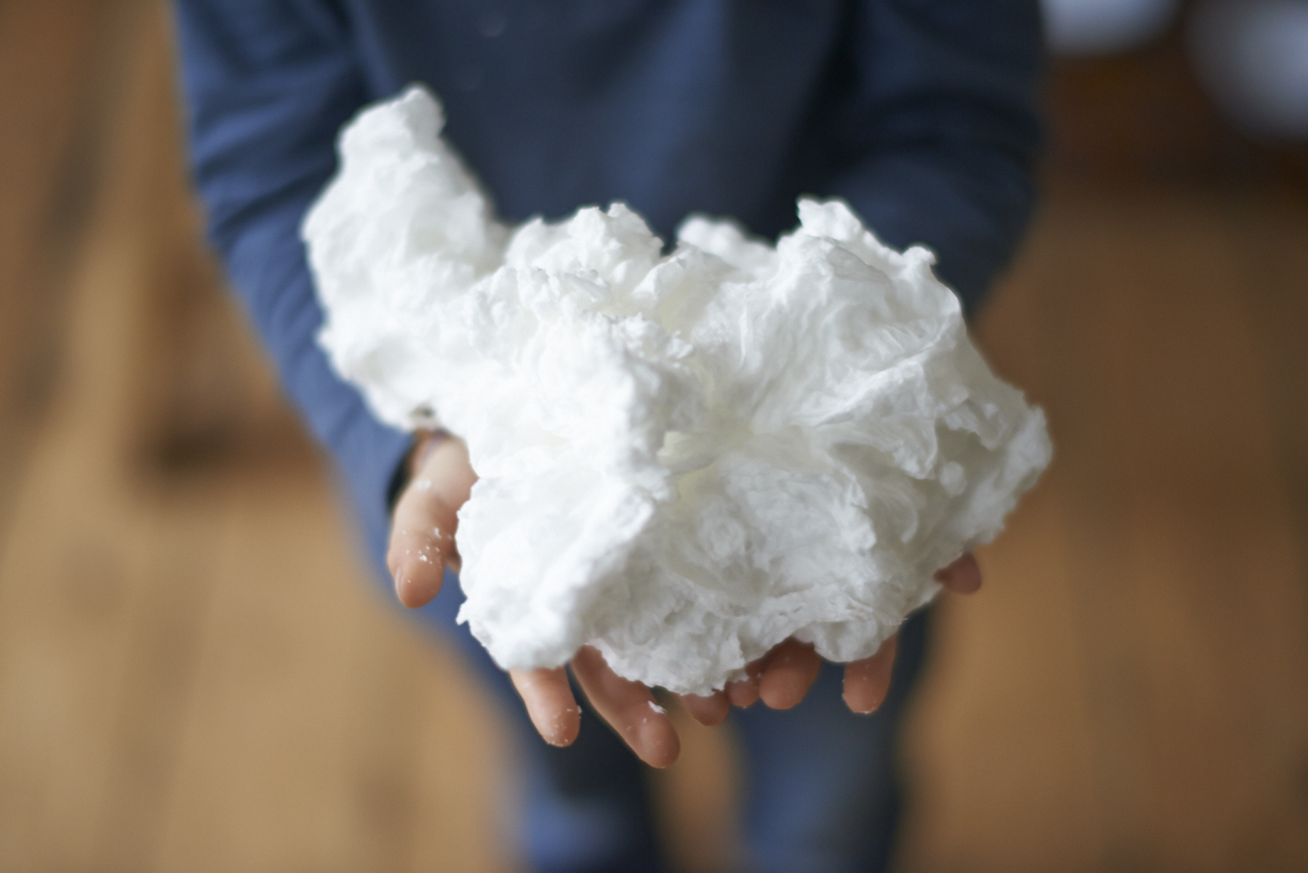 MAKE YOUR OWN SOAP CLOUDS WITH A MICROWAVE - LADYLANDLADYLAND