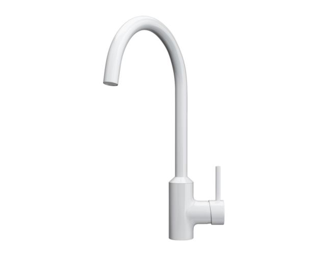 IKEA ringskar single lever kitchen mixer tap white