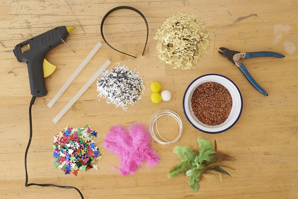 confetti crowns items