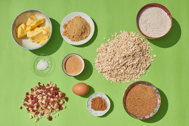 Lactation cookies ingredients