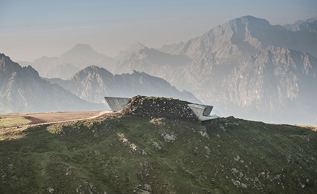 Zaha Hadid Architects - Messner Mountain Museum