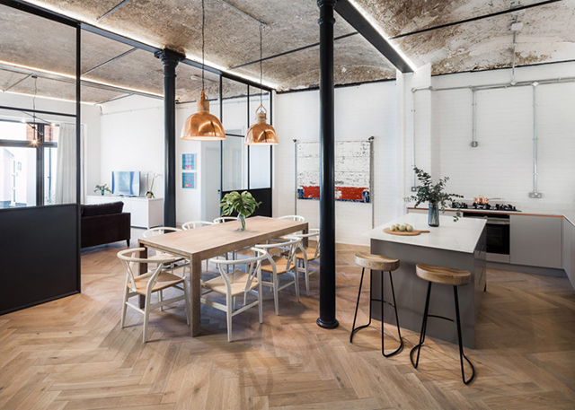 Bakery Place – Jo Cowen Apartments renovation in Clapham, London