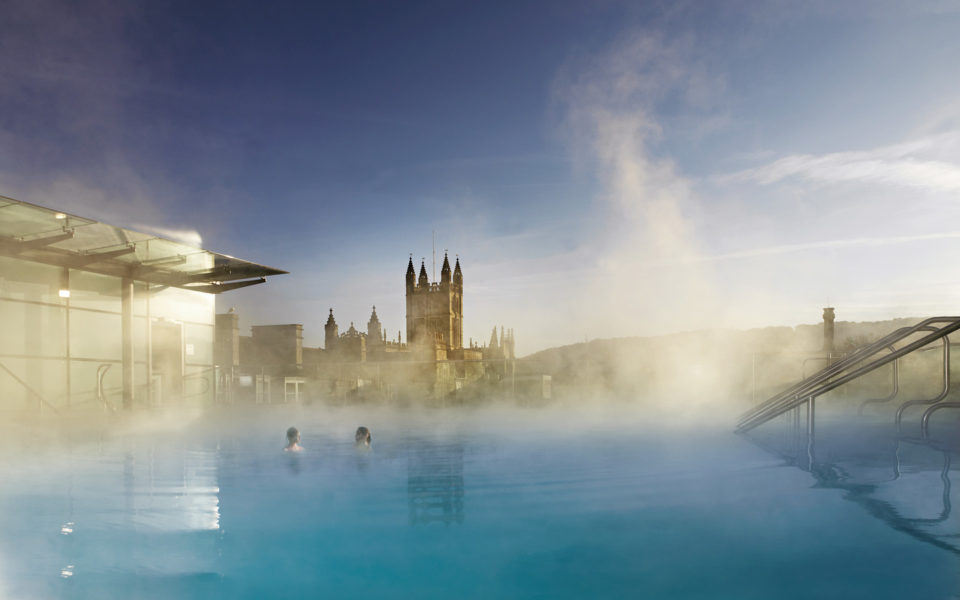 Thermae Bath Spa rooftop outdoor pool